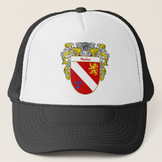 Nunez Coat of Arms/Family Crest Trucker Hat