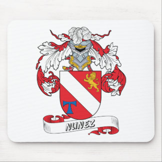 Nunez Family Crest Mouse Pad