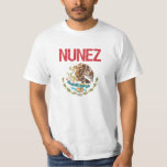 Nunez Surname T Shirt