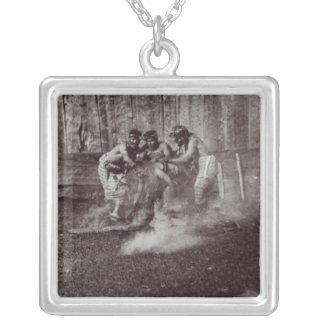 Nunhltstistlahl Qagyval' Square Pendant Necklace