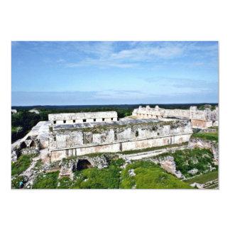 Nunnery Quadrangle, Uxmal 5x7 Paper Invitation Card