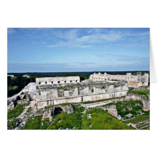 Nunnery Quadrangle, Uxmal Greeting Card