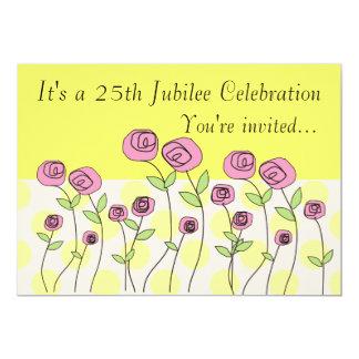 Nuns 25th Jubilee Celebration Invitations