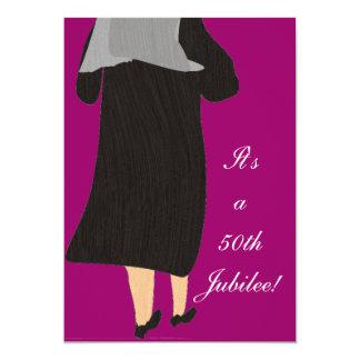 Nuns 50th Jubilee Celebration Invitation 3