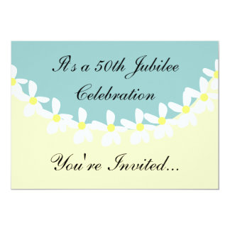 Nuns 50th Jubilee Celebration Invitations