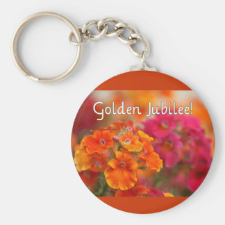 Nuns 50th Jubilee--Floral Design Gifts Key Chain