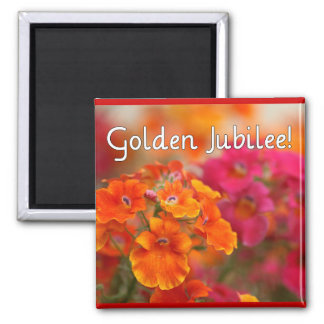 Nuns 50th Jubilee--Floral Design Gifts Magnet