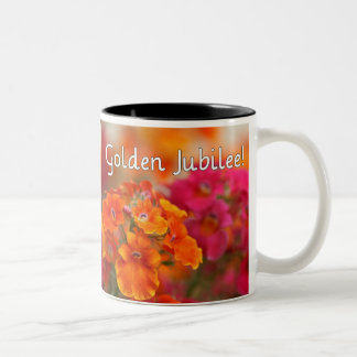 Nuns 50th Jubilee--Floral Design Gifts Mugs