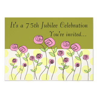 Nuns 75th Jubilee Celebration Invitations