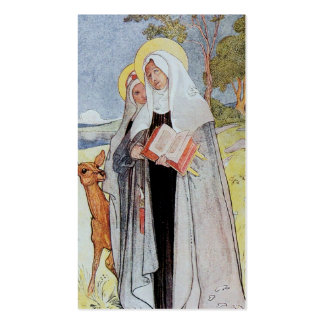 Nuns and a Deer Double-Sided Standard Business Cards (Pack Of 100)