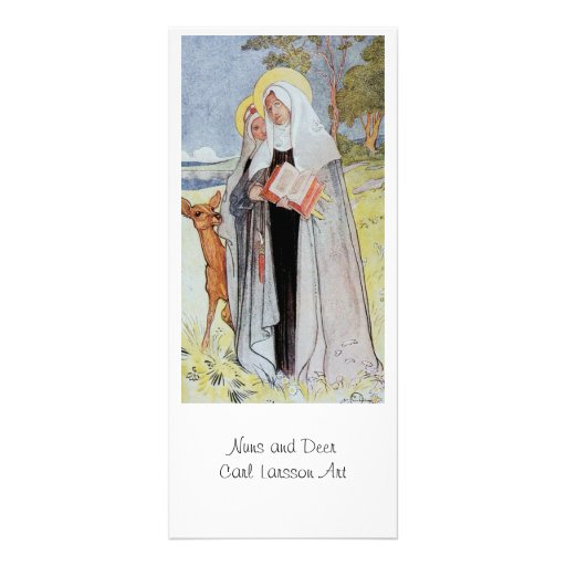Nuns and a Deer Customized Rack Card