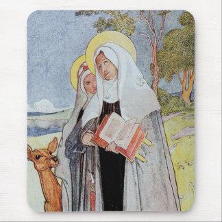 Nuns and a Deer Mousepad