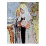 Nuns and a Deer Post Card