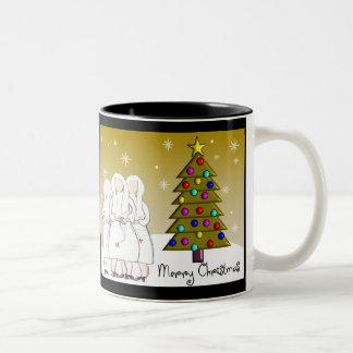 Nuns Christmas Cards and Gifts-Artsy Design Mugs