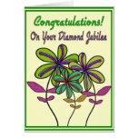 Nuns Diamond Jubilee 75th Year of Service Card