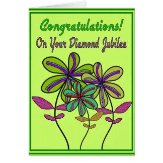 Nuns Diamond Jubilee 75th Year of Service Greeting Card