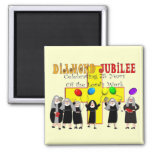 Nuns Diamond Jubilee 75th Year of Service Magnets