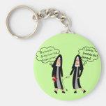 "Nuns ""Extreme Irritation"" Gifts Basic Round Button Keychain"