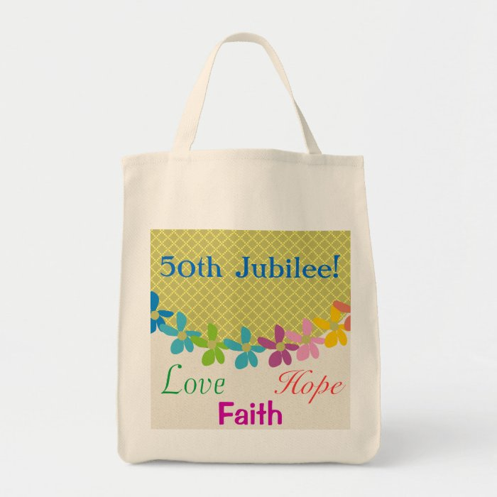 Nuns Golden 50th Jubilee Tote Bag