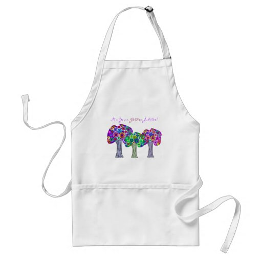 Nuns Golden Jubilee 50th Anniversary Gifts Adult Apron