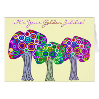 Nuns Golden Jubilee 50th Anniversary Gifts Greeting Card