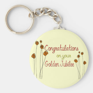 Nuns Golden Jubilee (50th Anniversary) Gifts Keychain