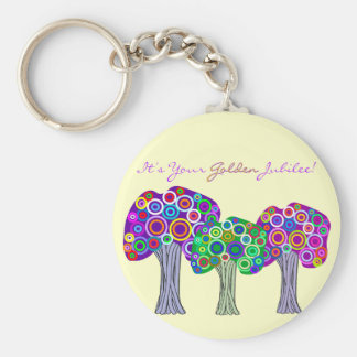 Nuns Golden Jubilee 50th Anniversary Gifts Keychain