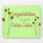 Nuns Golden Jubilee (50th Anniversary) Gifts Mousepads