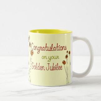 Nuns Golden Jubilee (50th Anniversary) Gifts Two-Tone Coffee Mug