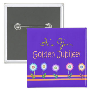 Nuns Golden Jubilee Cards and Gifts Pinback Buttons