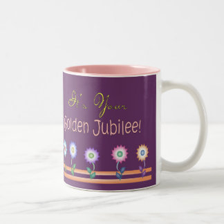 Nuns Golden Jubilee Cards and Gifts Two-Tone Coffee Mug