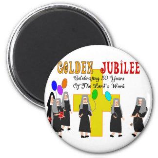 Nuns Golden Jubilee Gifts Magnet