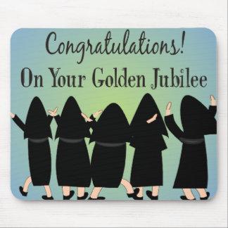 Nuns Golden Jubilee Gifts Mousepads