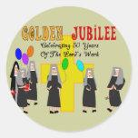 Nuns Golden Jubilee Gifts Sticker