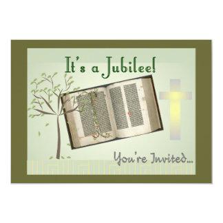 "Nuns Jubilee Invitations 5"" X 7"" Invitation Card"