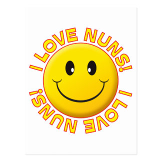 Nuns Love Smile Postcard