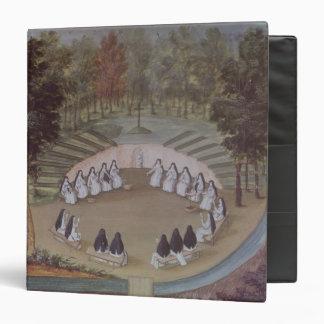 Nuns Meeting in Solitude 3 Ring Binders