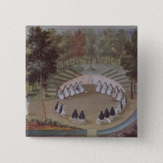 Nuns Meeting in Solitude Button