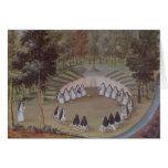 Nuns Meeting in Solitude Card