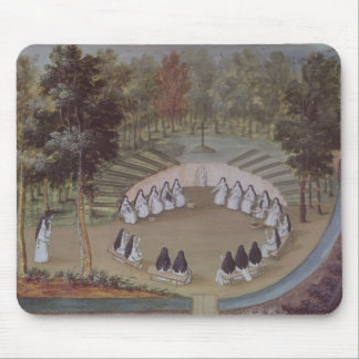 Nuns Meeting in Solitude Mouse Pad