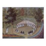 Nuns Meeting in Solitude Postcard