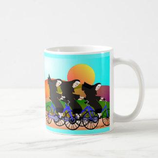 Nuns on Bicycles Art Gifts Mug