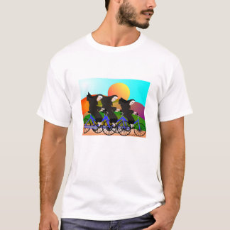 Nuns on Bicycles Art Gifts T-Shirt