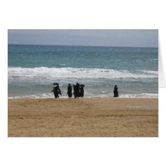 nuns paddling card