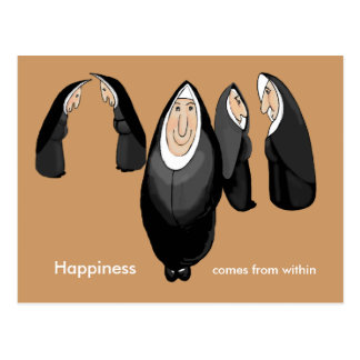 nuns postcard