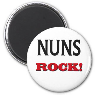 Nuns Rock Magnet