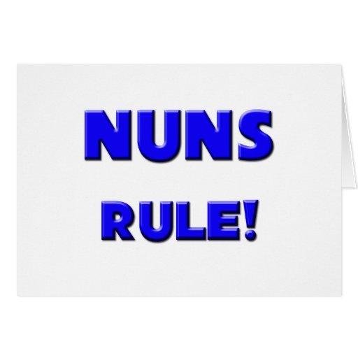 Nuns Rule! Card