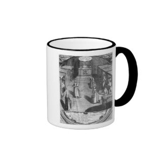 Nuns serving food to the patients at the ringer coffee mug