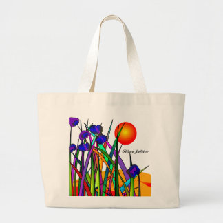 Nuns Silver 25th Jubilee Artsy Floral Tote Bag