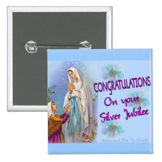 Nuns Silver Jubilee Gifts and Cards Pin